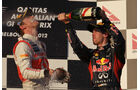 Button & Vettel GP Australien 2012