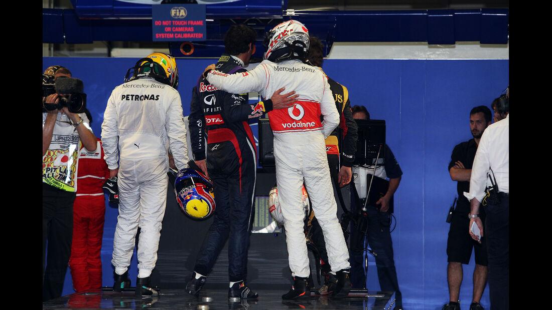 Button & Webber - Formel 1 - GP Japan - 12. Oktober 2013