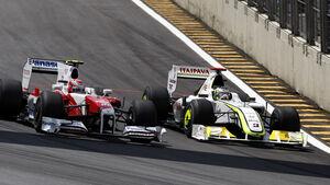 Button f�hrt an Kobayashi vorbei