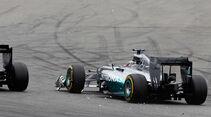 Button vs. Hamilton - GP Deutschland 2014