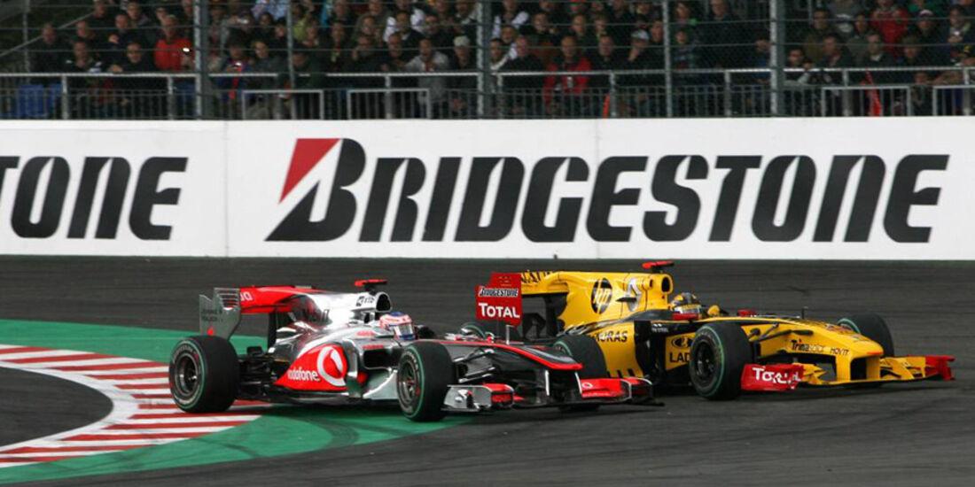 Button vs. Kubica