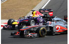 Button vs. Vettel - Formel 1 - GP Ungarn 2013