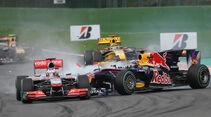 Button vs. Vettel