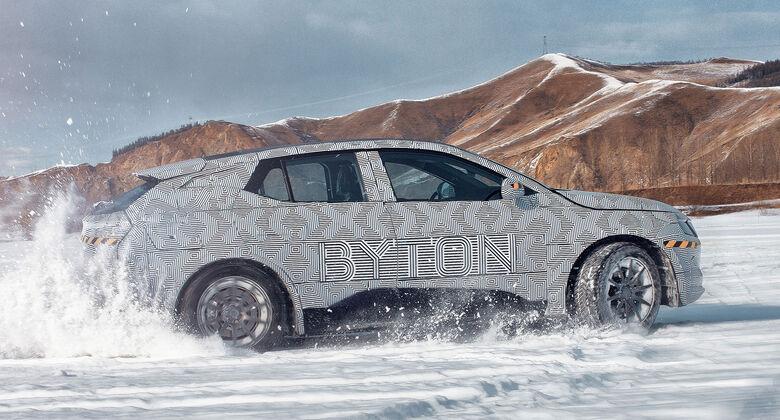 Byton M-Byte Erlkönig
