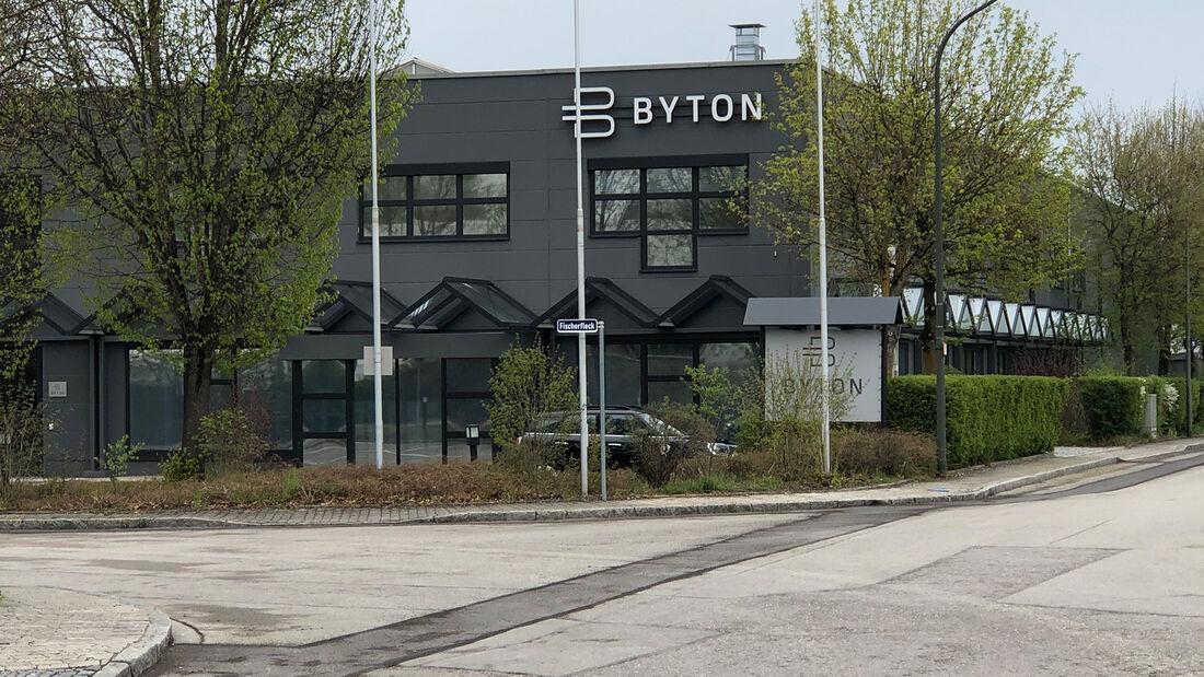 Byton Standort in Ismaning