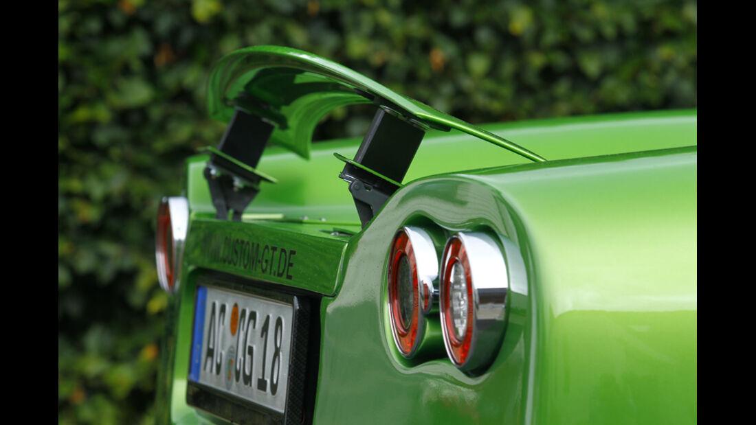 CCG Custom GT Ecovision, Heck