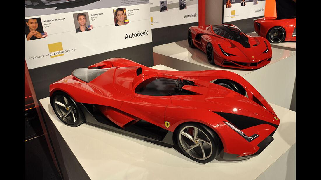 CCS Detroit, Ferrari World Design Contest 2011