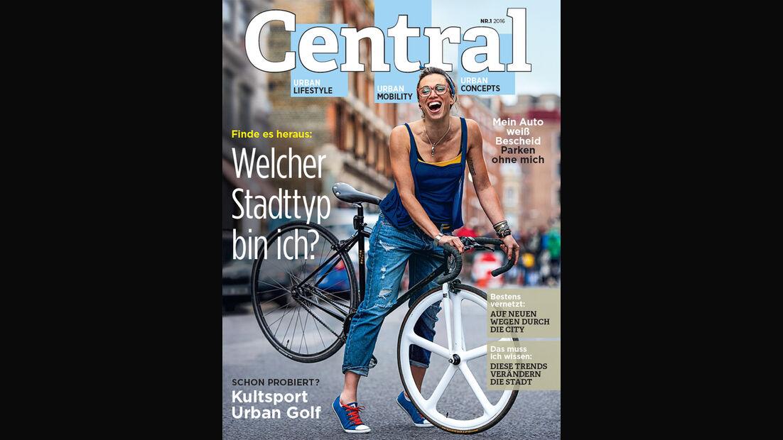 CENTRAL Magazin, Ausgabe 1, Teaser, Vorschau, Promo, 03/2016