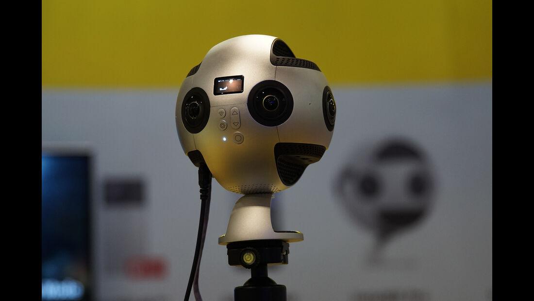 CES 2017, 8k-360-Grad-Kamera