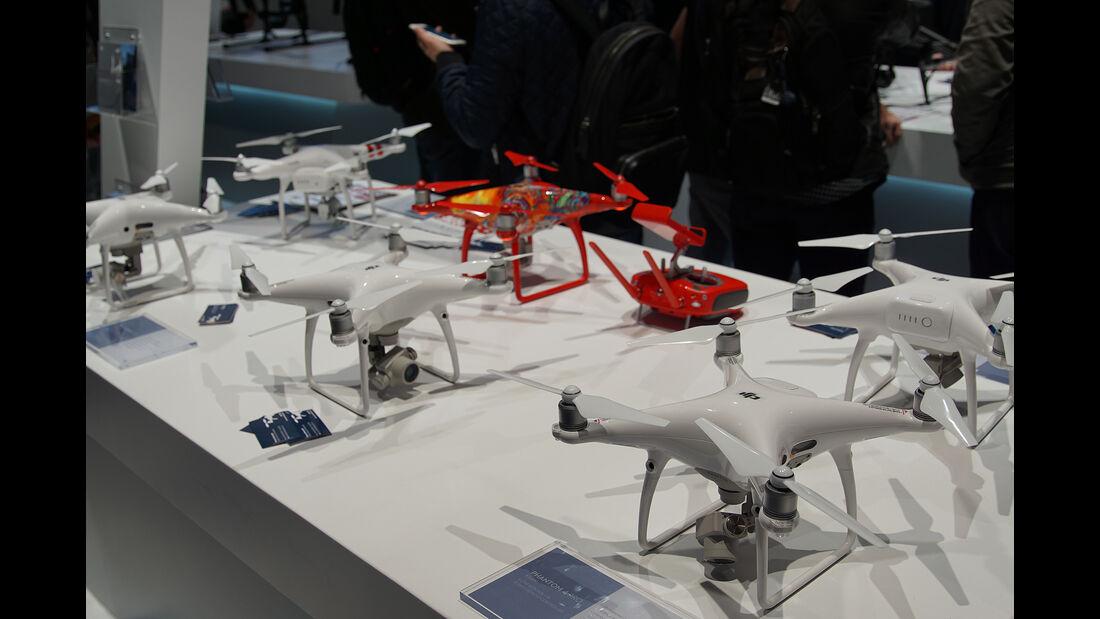 CES 2017, Drohnen