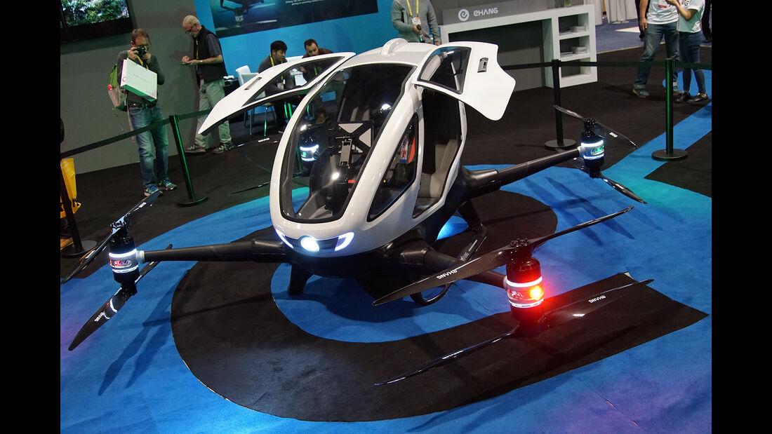 CES 2017, Ehang 184, Drohne