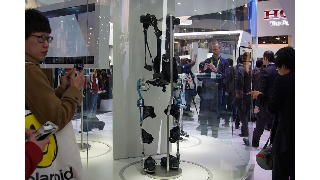 CES 2017, Hyundai Exoskeleton