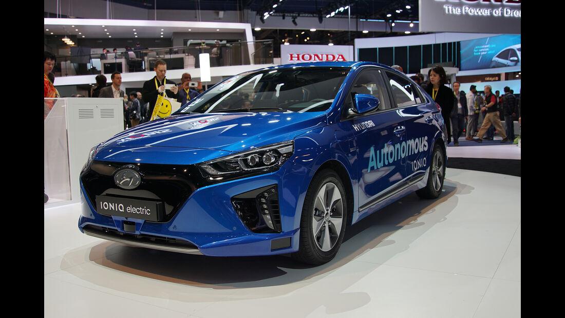 CES 2017, Hyundai Ioniq electric