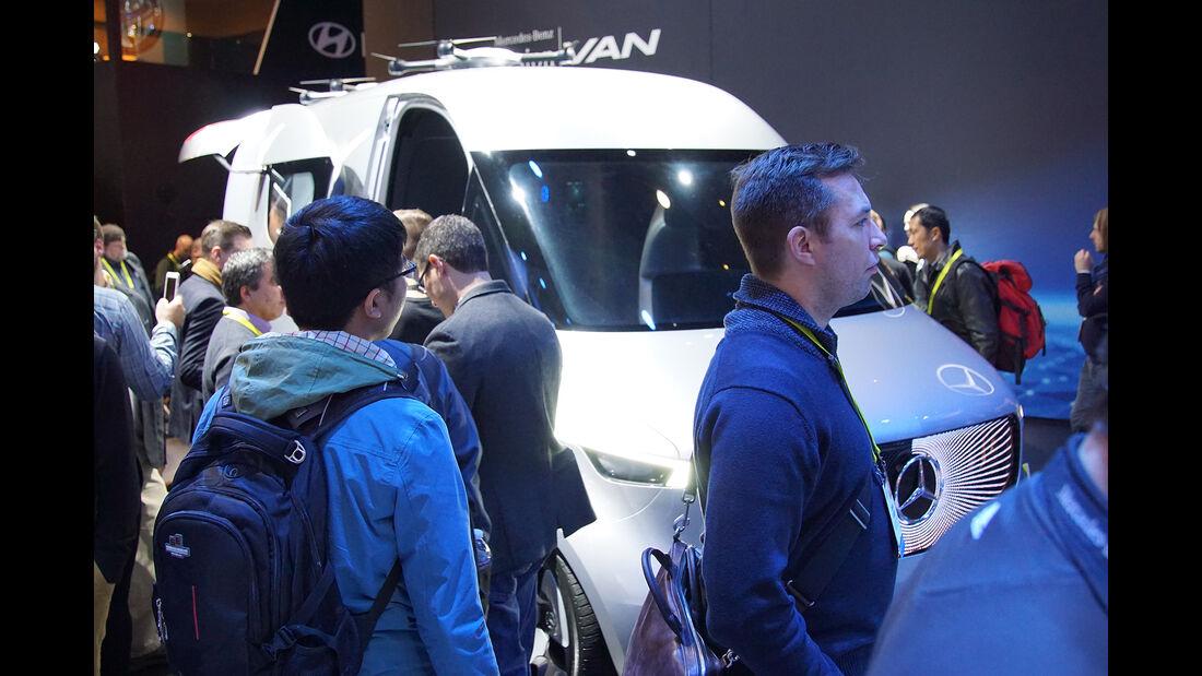 CES 2017, Mercedes Vision Van