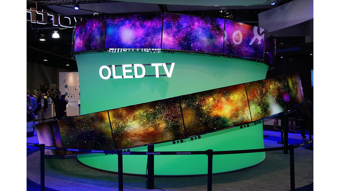 CES 2017, OLED TV