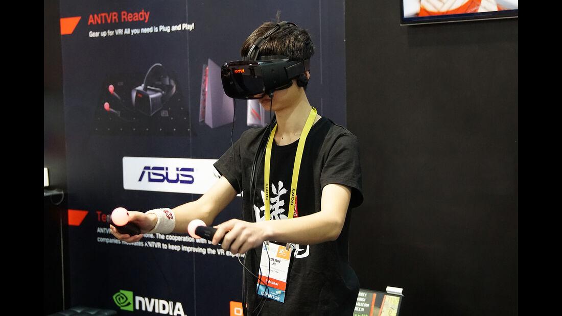 CES 2017, VR-Brille
