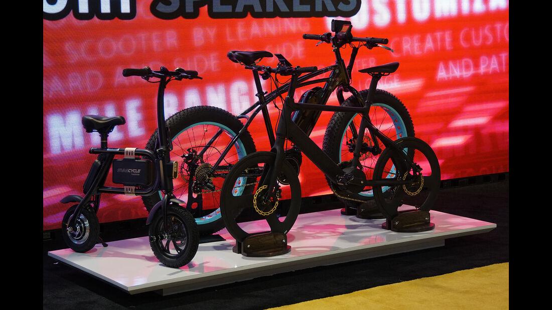 CES 2017, e-Bikes