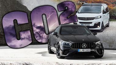 CO2 Grenzwert Einsparung Hersteller Mercedes Opel