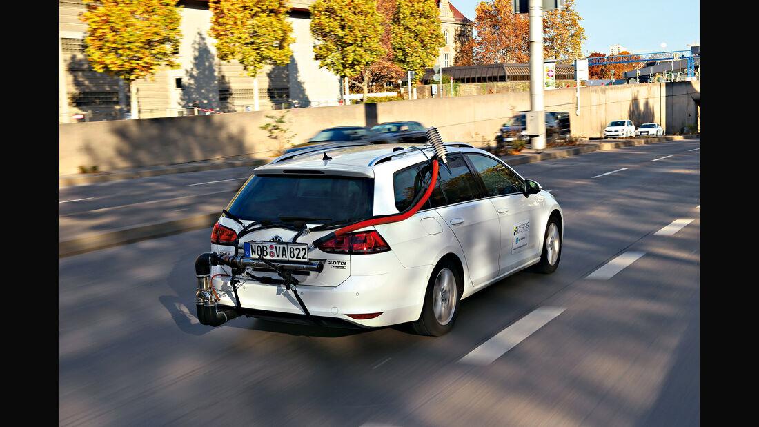 CO2-Realtest VW Golf TDI AMS26/15