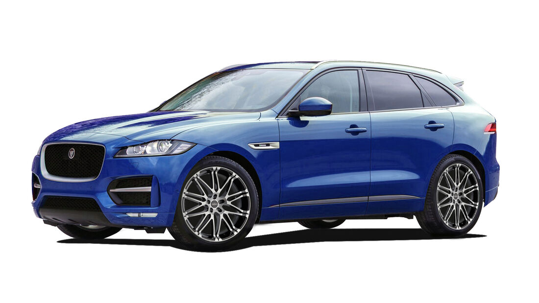 CPA Performance-Tuning für Jaguar F-Pace