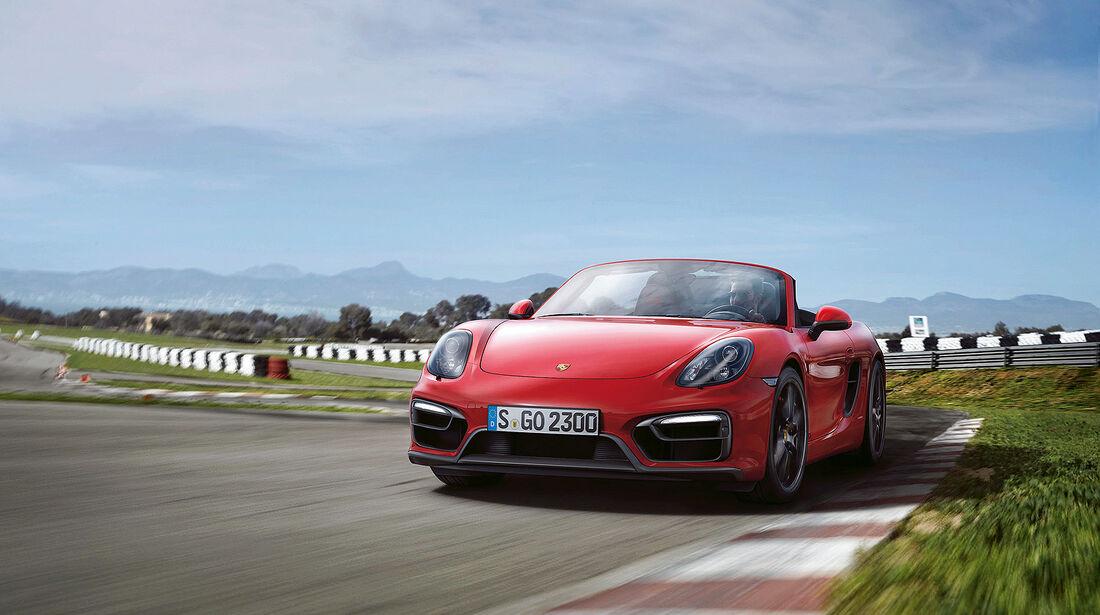 Cabrio, Porsche Boxster GTS