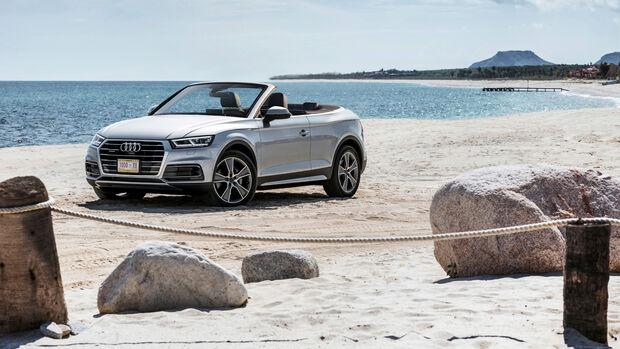 Cabrio SUV Retusche Audi Q5