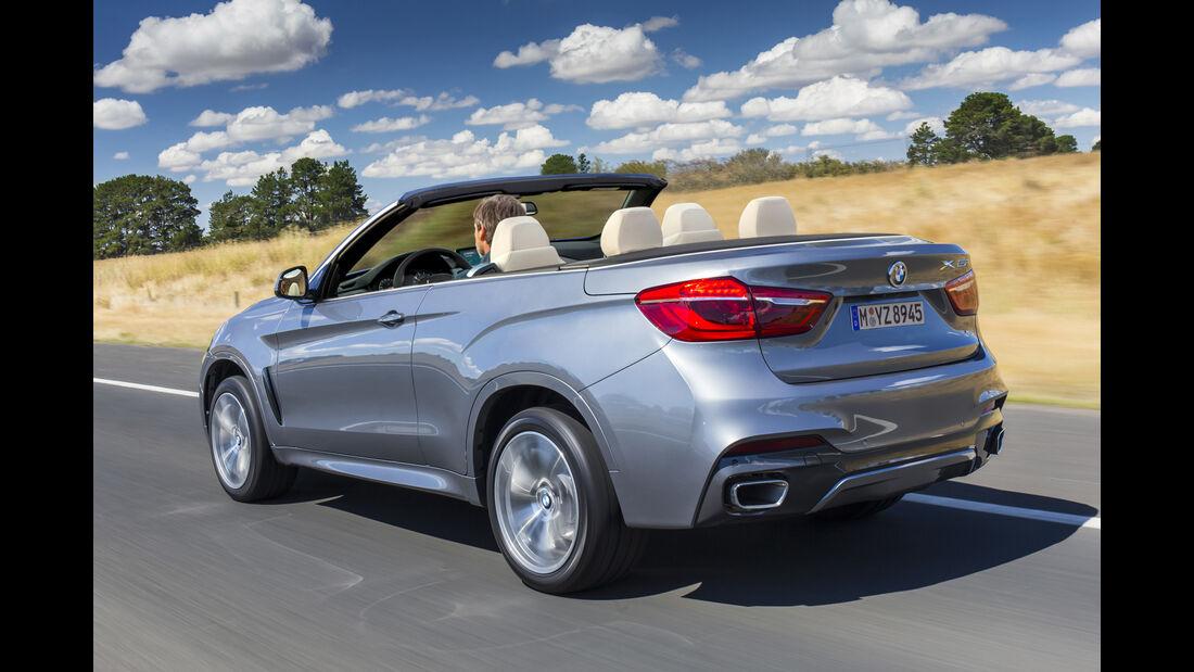 Cabrio SUV Retusche BMW X6