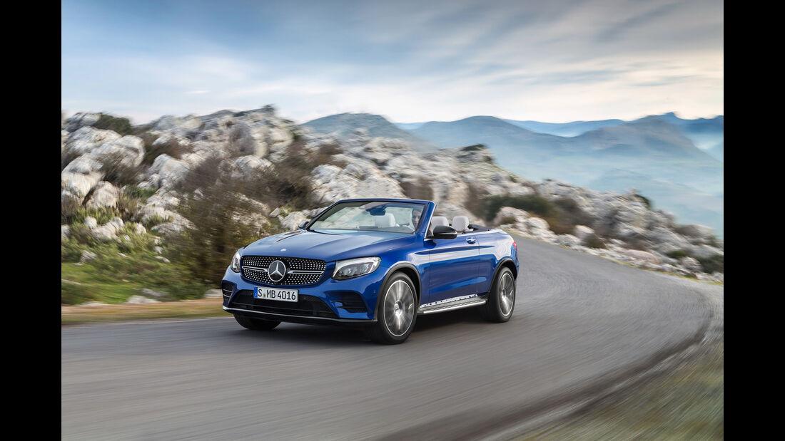 Cabrio SUV Retusche Mercedes GLC