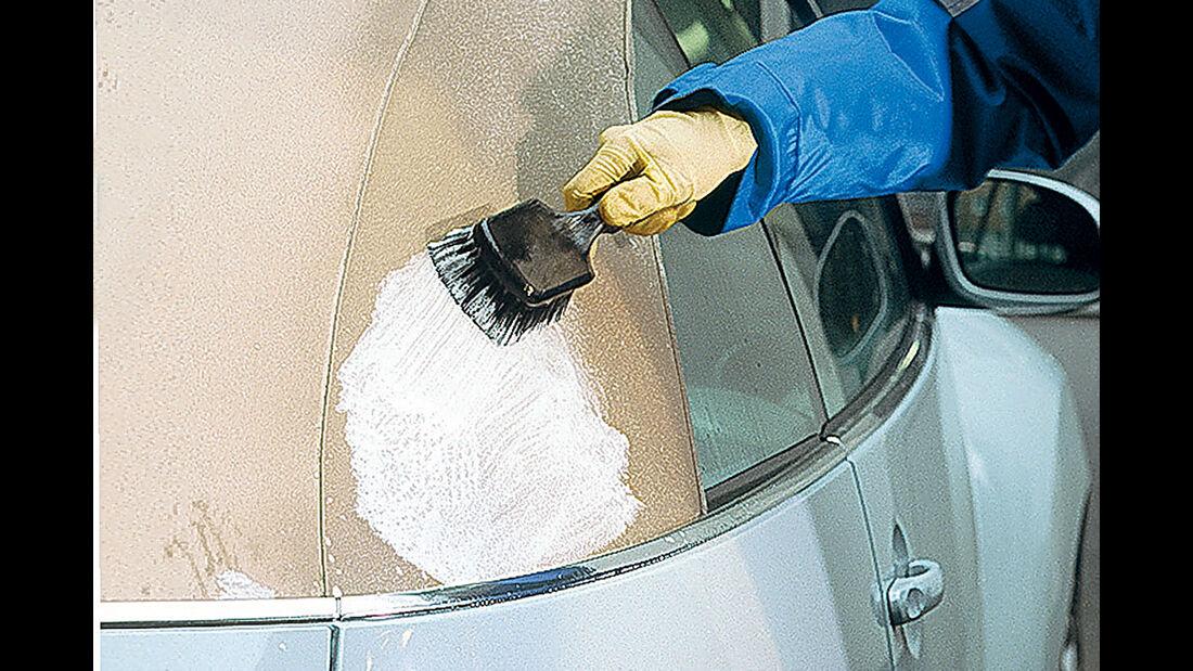 Cabrio-Verdecke, Reinigung