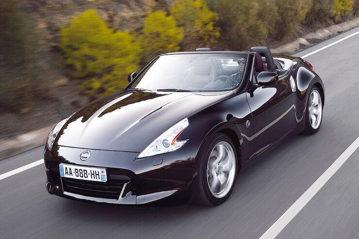 Cabrios bis 50 000 €, Nissan 370Z Roadster