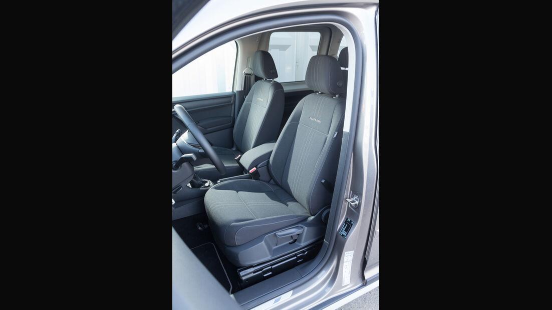 Caddy Alltrack 2.0 TDI, Fahrersitz