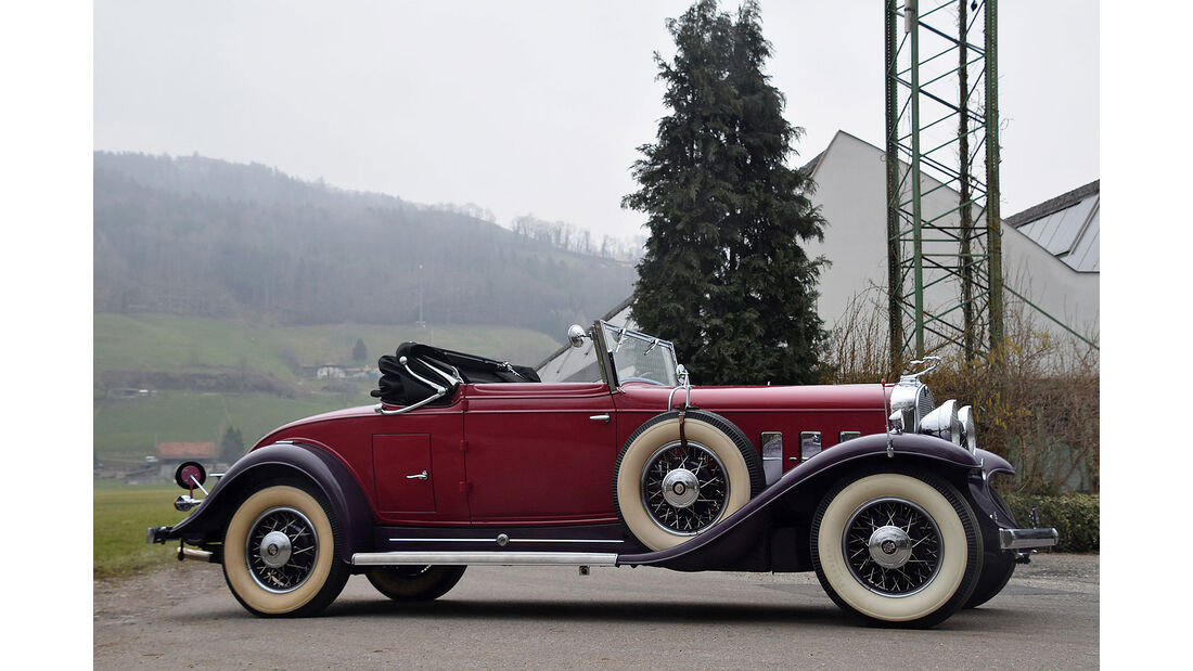 Cadillac 370A V12 1931Oldtimer Auktion Toffen