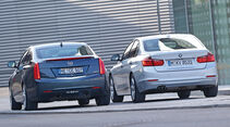 Cadillac ATS 2.0 Turbo, BMW 328i, Heckansicht