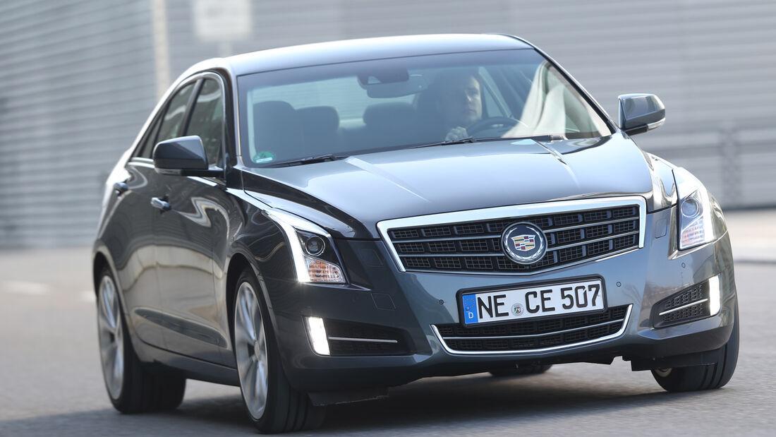 Cadillac ATS 2.0 Turbo, Frontansicht
