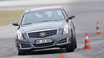Cadillac ATS 2.0 Turbo, Frontansicht, Slalom