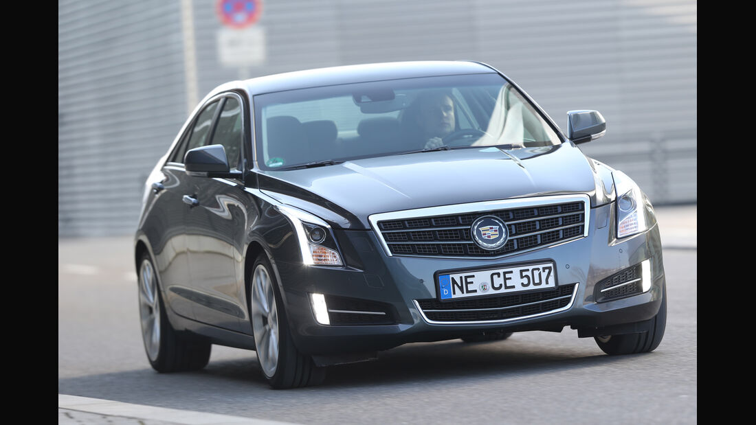 Cadillac ATS 2.0 Turbo, Frontansicht