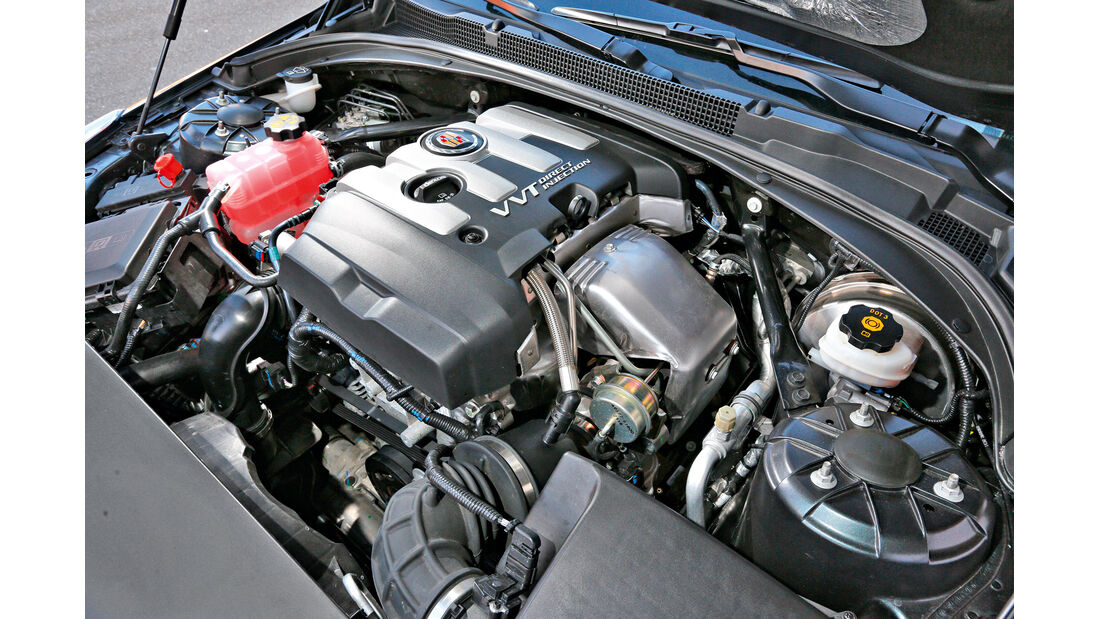Cadillac ATS 2.0 Turbo, Motor