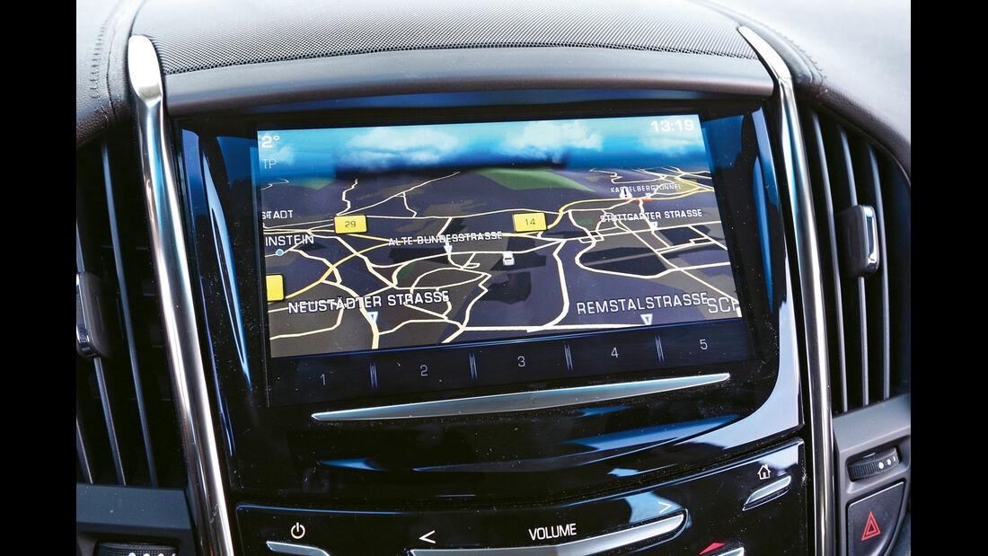 Cadillac ATS 2.0 Turbo, Navi, Display