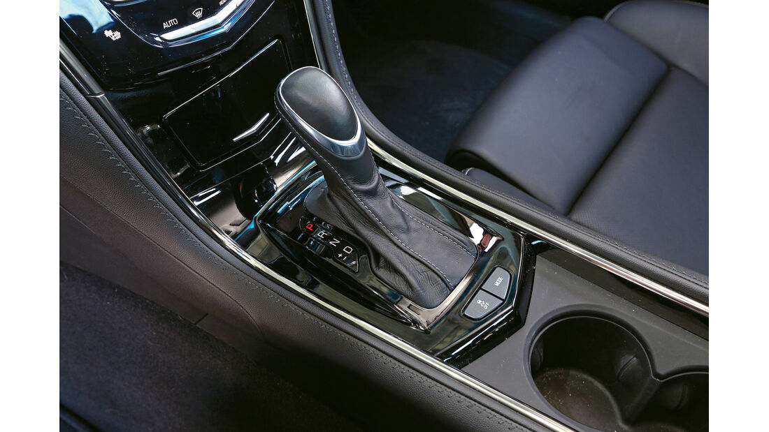 Cadillac ATS 2.0 Turbo, Schalthebel, Schaltknauf