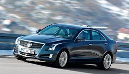 Cadillac ATS 2.0 Turbo, Seitenansicht
