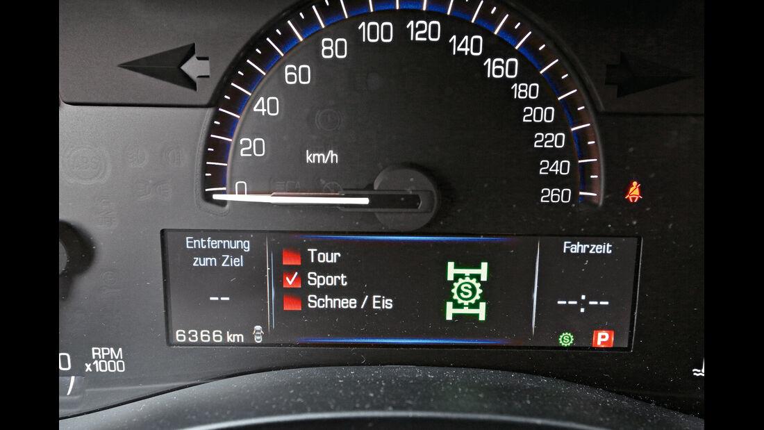 Cadillac ATS 2.0 Turbo, Tacho, Rundinstrument
