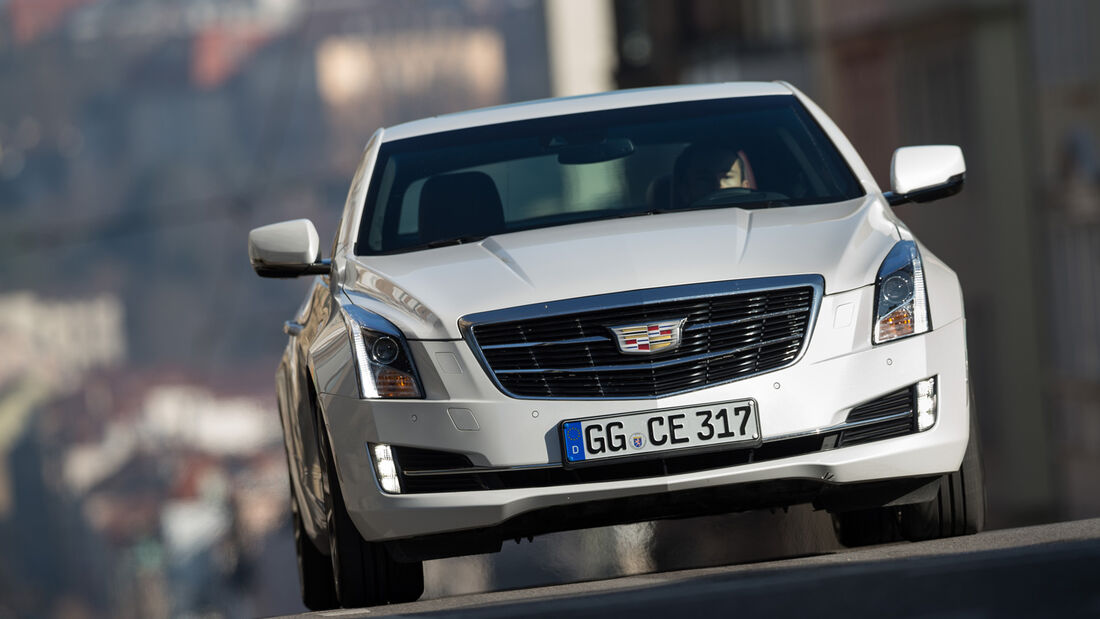 Cadillac ATS Coupé 2.0 Turbo AWD, Frontansicht