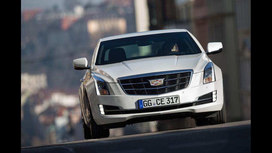 Cadillac ATS Coupé 2.0 Turbo AWD, Frontansicht