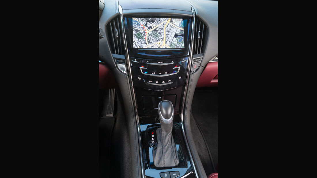 Cadillac ATS Coupé 2.0 Turbo AWD, Mittelkonsole
