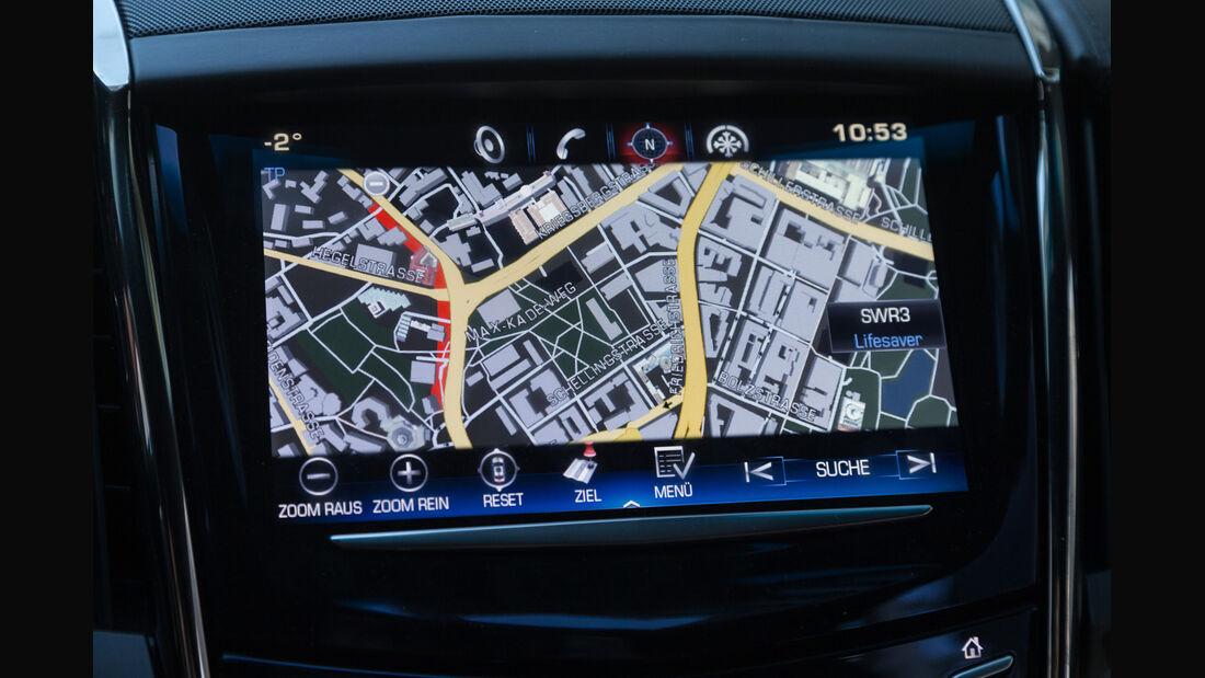 Cadillac ATS Coupé 2.0 Turbo AWD, Navi