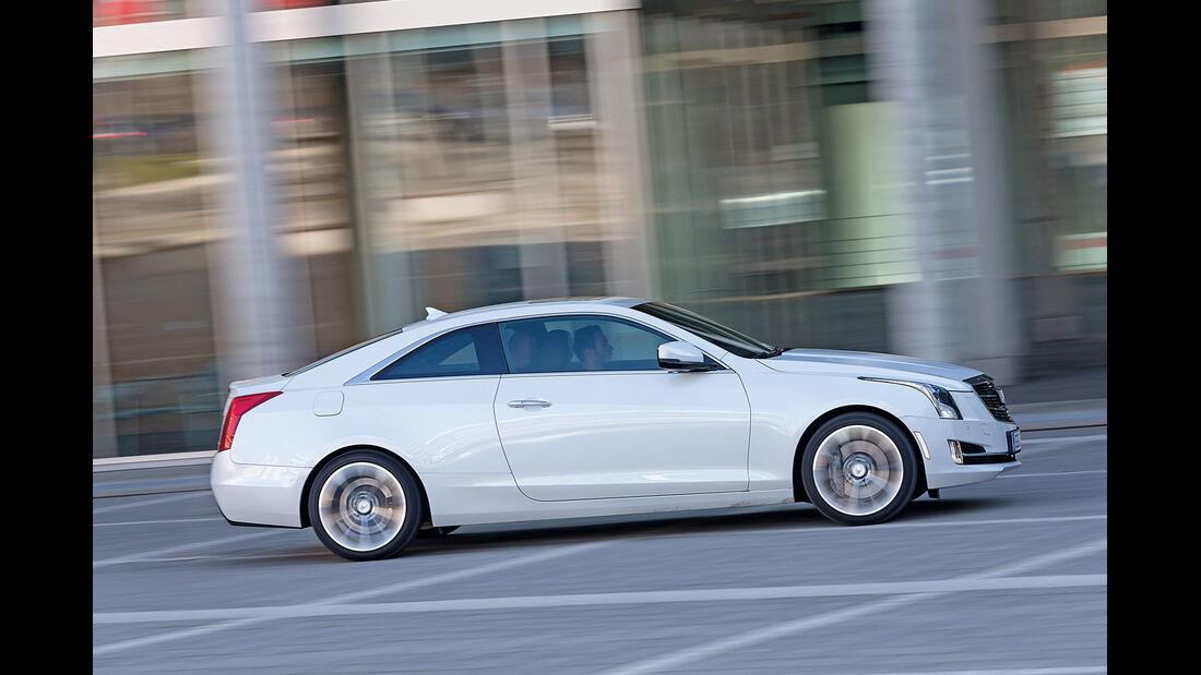 Cadillac ATS Coupé 2.0 Turbo AWD, Seitenansicht