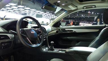 Cadillac ATS Coupé, Detroit Motor Show, NAIAS, Innenraum
