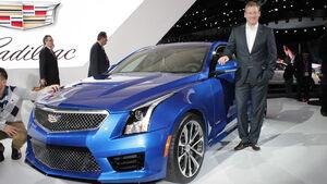 Cadillac ATS-V Sitzprobe