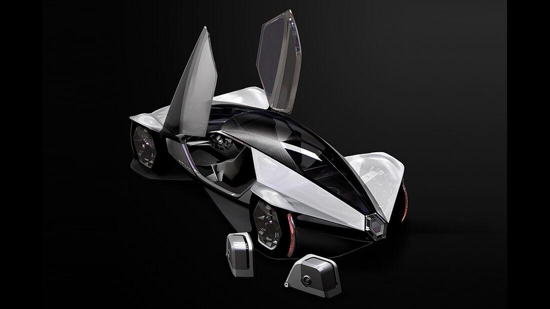 Cadillac Aera, L.A. Design Challenge, Studie