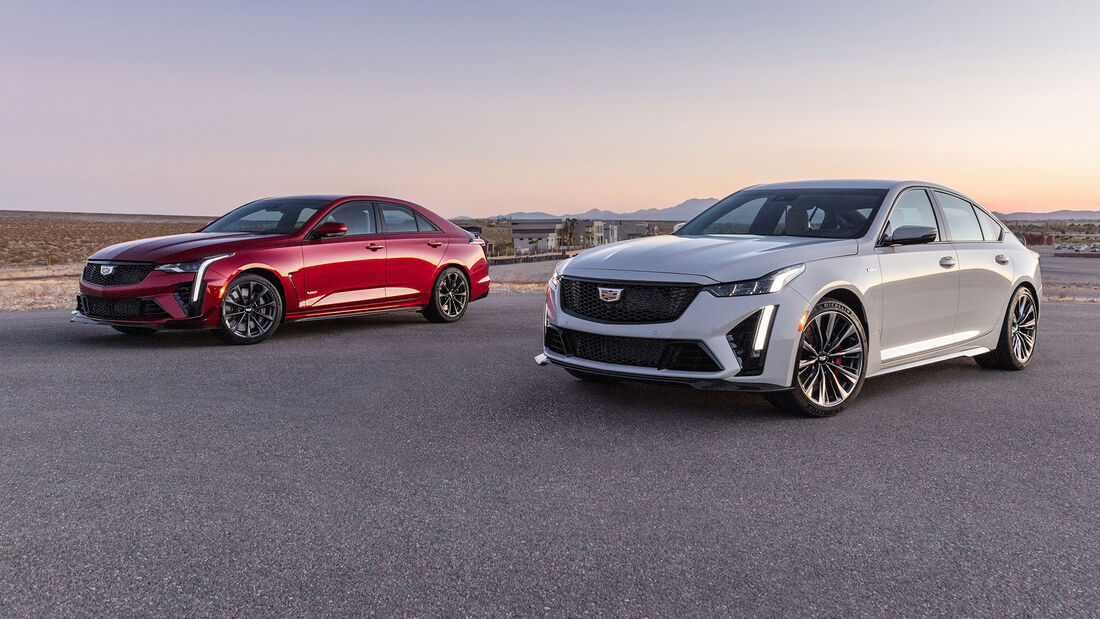 Cadillac CT4-V Blackwing und CT5-V Blackwing